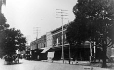 downtown gainesville 1890s